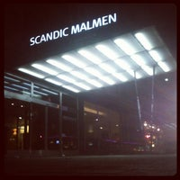 Photo taken at Scandic Malmen by Roman G. on 2/17/2013