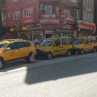Photo taken at Kültür Taksi by Ramazan K. on 4/8/2014