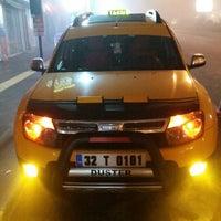 Photo taken at Kültür Taksi by Ramazan K. on 12/31/2014