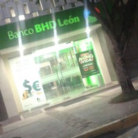 Photo taken at Banco BHD León by Carolina R. on 4/1/2016