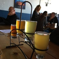 Photo taken at Flagship Brewing Co. by Natalia M. H. on 4/10/2016