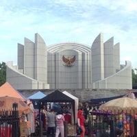 Photo taken at Monumen Perjuangan Rakyat Jawa Barat by AldyRiza T. on 1/29/2017