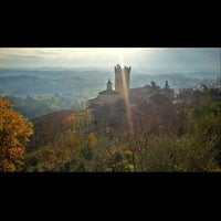 Photo taken at Rocca di Federico II by Elton A. on 12/15/2014