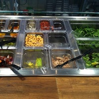 Photo taken at Salad Oz by Asner G. on 3/22/2014