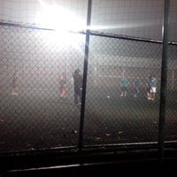 Photo taken at canchas seven orizaba by Irving G. on 3/5/2014