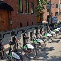 Photo taken at Station BIXI by JulienF on 5/24/2016