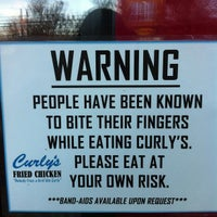 Photo taken at Curly's Fried Chicken by John S. on 11/24/2012
