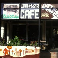 Photo taken at All Good Cafe by John S. on 10/19/2012