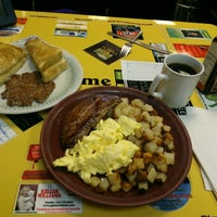 Photo taken at The Original Gab & Eat Restaurant by Chuck R. on 11/6/2012