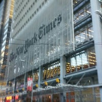 Photo taken at The New York Times Building by Cindy K. on 12/3/2015