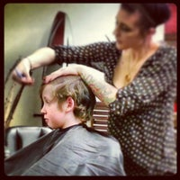 Photo taken at Planet Hair by Cindy K. on 2/5/2013