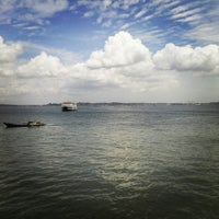 Photo taken at Pelabuhan Penajam by Heikal A. on 1/23/2014