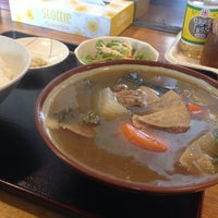 Photo taken at まんぷく食堂 by らいおん。 on 1/14/2015