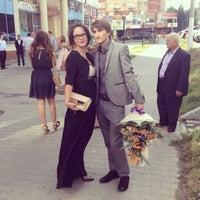 Photo taken at ЗАГС г. Московский by Olga S. on 8/16/2014