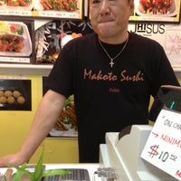 Photo taken at Makoto Sushi by Mel on 3/16/2013