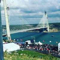 8/26/2016 tarihinde Mehmet C.ziyaretçi tarafından Yavuz Sultan Selim Köprüsü'de çekilen fotoğraf