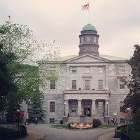 Photo taken at McGill University by Fernanda S. on 6/5/2013