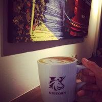 Photo taken at txpresso & espresso cafe UNICORN by sputneek on 5/3/2015