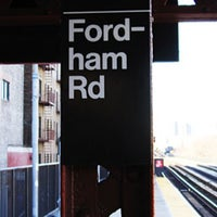 "Photo taken at MTA Subway - Fordham Rd (4) by Joseph ""KWEST"" C. on 2/1/2013"