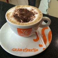 Photo taken at Grão Espresso by Wolmer D. on 4/17/2014
