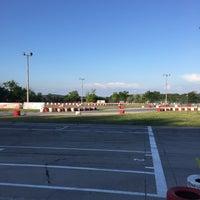 Photo taken at Varna Karting Track by Den R. on 7/3/2015