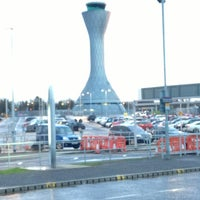 Photo taken at Edinburgh Airport (EDI) by Ben L. on 2/5/2013
