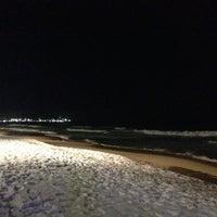 Photo taken at Sokcho Beach by Hee.J K. on 1/26/2013