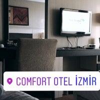 2/8/2017 tarihinde Hüseyin A.ziyaretçi tarafından İzmir Comfort Hotel'de çekilen fotoğraf