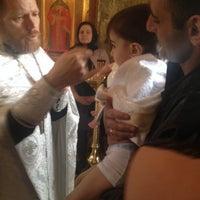 Photo taken at Епархиальный монастырь святого мученика Евгения by Люся К. on 4/27/2014