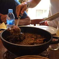 Photo taken at Taverna Marinera Pepa Caneja by Joan M. on 8/3/2014