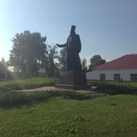 Photo taken at Памятник князю Воротынец by Anna S. on 7/3/2014