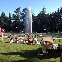 Photo taken at Parco Termale Villa dei Cedri by Stefania M. on 8/15/2014