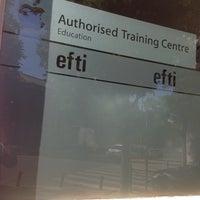 Photo taken at EFTI by Lucas M. on 7/1/2014