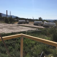 Photo taken at çimentaş kül tesisi by Şaban Ç. on 7/23/2017