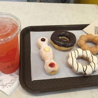 Photo taken at Mister Donut by aorr on 6/21/2016