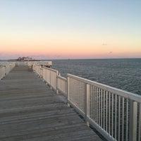 Photo taken at Calf Pasture Beach by Craig B. on 12/3/2015