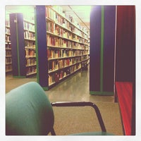 Photo taken at Webster Library by Nattie on 11/29/2012