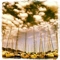 Photo taken at Funtana marina by Michael Rajiv S. on 7/12/2013