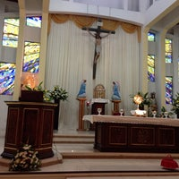 Photo taken at Iglesia De Los Angeles by Marcela C. on 6/19/2014