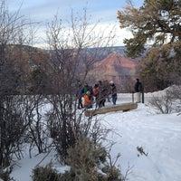 Photo taken at Bright Angel Historic Cabins by Gennifer H. on 12/25/2012