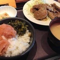Photo taken at Hakata Motsunabe Yamaya by MB on 3/12/2017
