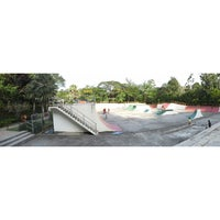 Photo taken at Youth Park Skate Park by Aini Z. on 11/23/2014
