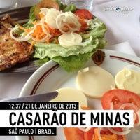 Photo taken at Casarão de Minas by Pam D. on 1/21/2013