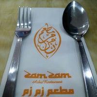 Photo taken at Zam Zam Arabic Restaurant by Syukri Z. on 9/25/2015