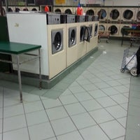 Photo taken at Super Clean Laundromant by Impro T. on 1/14/2014