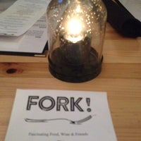 Photo taken at Fork Restaurant by Connie B. on 9/21/2014