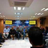 Foto tomada en PSOE de Málaga por Andrea B. el 3/12/2013