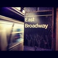 Photo taken at MTA Subway - F Train by Cillian K. on 10/4/2012