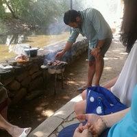 Photo taken at Degirmen piknik alani by zeynep k. on 6/13/2014
