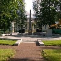 Photo taken at Мемориал Кировского Училища by Дмитрий С. on 6/19/2014